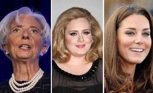 Christine Lagarde, la chanteuse Adele et Kate Middleton sont dans la liste 2011 des personnalités les plus influentes du Time Magazine.