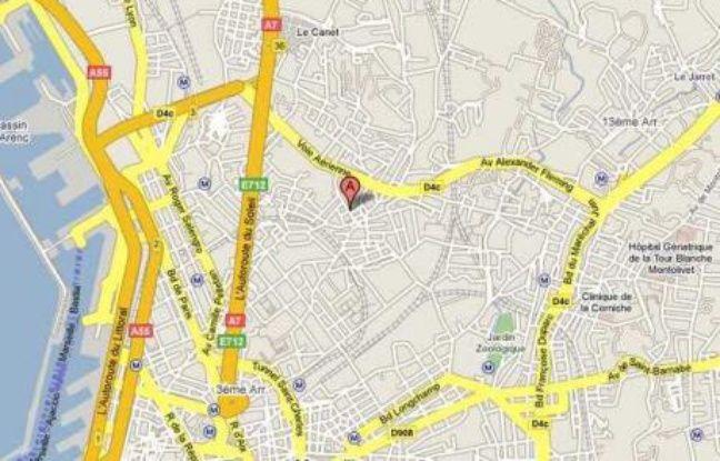 explosion suspecte dans une rue de marseille pas de victime. Black Bedroom Furniture Sets. Home Design Ideas