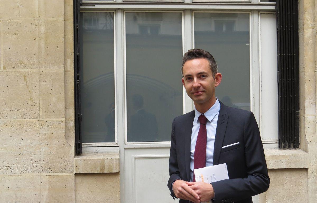 Paris, le 1er juillet 2014, Ian Brossat, adjoint chargé du Logement à la Mairie de Paris. – O. Gabriel / 20 Minutes
