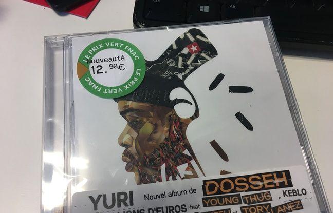 Dosseh a acheté son propre album à la Fnac (pastille prix vert faisant foi) pour offrir aux amis (et aux journalistes sympas)
