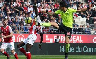 José Fonte a marqué pour Lille contre Reims.