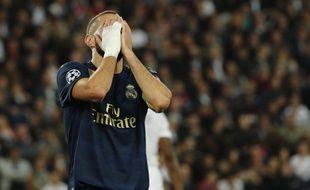 Benzema et le Real ont coulé sur la pelouse du PSG en ouverture de la Ligue des champions, le 18 septembre 2019.