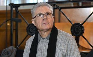 Luc Fournié, le buraliste de Lavaur, lors de son procès en appel devant les assises de Toulouse, en décembre 2016.