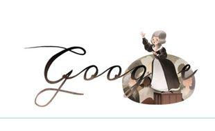 Le Doodle du 7 mai 2014 rend hommage à Olympe de Gouges