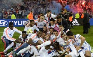 Largués à dix points de Monaco après 27 journées, les Lyonnais ont réussi leur folle remontée pour s'offrir une place en Ligue des champions le 7 mai.