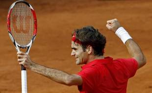 Roger Federer a permis à la Suisse de remporter une victoire décisive en barrages contre l'Italie, le 20 septembre.