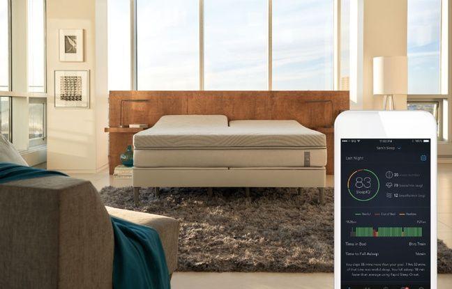 Smart Bed, le lit intelligent par Sleep Number.