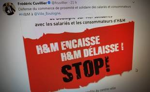 Le maire de Boulogne-sur-Mer dénonce le départ d'H&M du centre-ville.