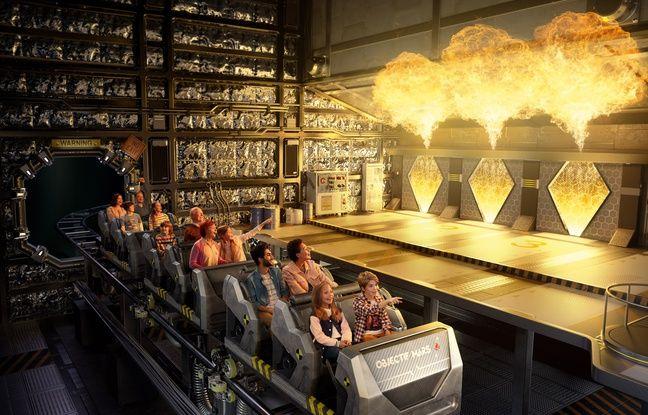 La nouvelle attraction du Futuroscope, le coller-coaster Objectif Mars