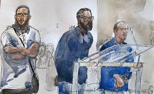 Les trois prévenus, modérateurs ou administrateurs du forum djihadiste Ansar al Haqq au début des années 2000 encourent jusqu'à dix ans de prison.