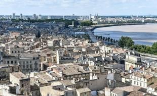 Le quartier populaire Saint-Michel a fait l'objet d'une réhabilitation. //AMEZUGO_10083/Credit:UGO AMEZ/SIPA/1710261853