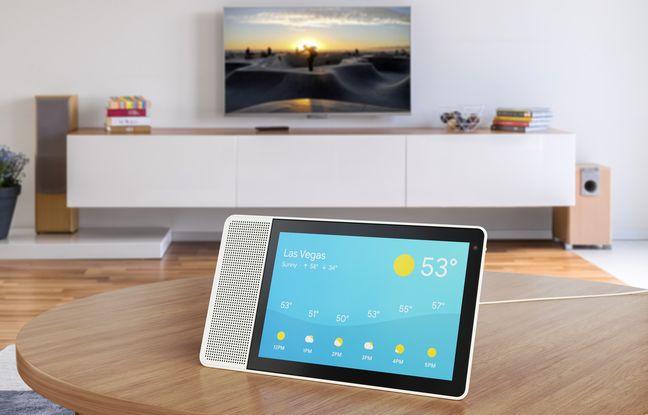 La tablette Lenovo Smart Display embarque Google Assistant.