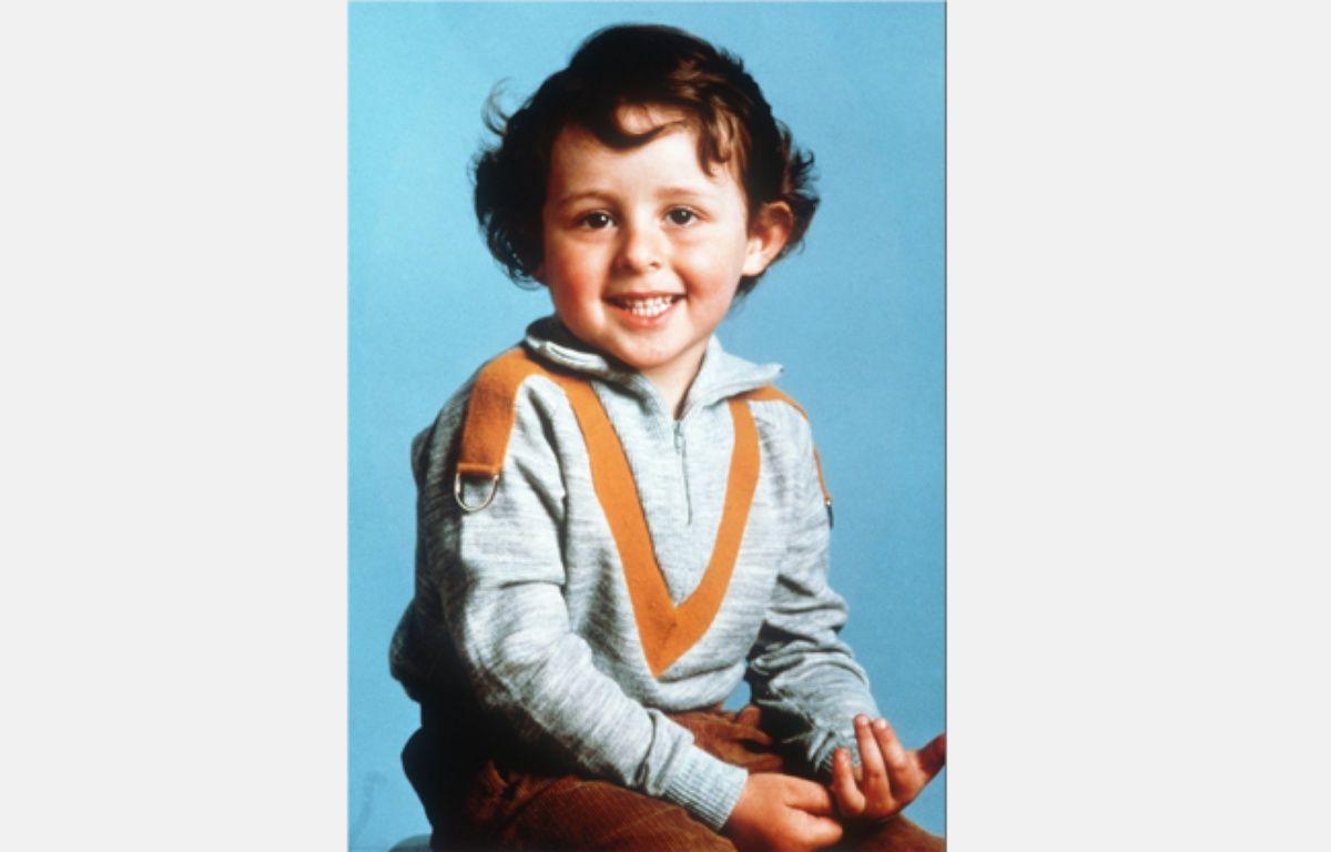 Portrait du petit Grégory Villemin, 4 ans, dont le corps est découvert dans la Vologne le 16 octobre 1984. – AFP