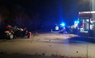 L'accident s'est produit lundi soir vers 21h20 au niveau de la commune de Nouvoitou.