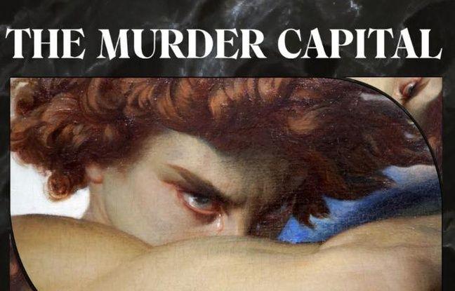 Affiche de la tournée 2020 du groupe The Murder Capital