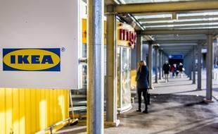 Un magasin Ikea (Illustration).