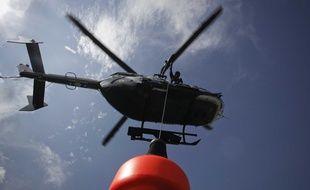 Un hélicoptère du peloton de gendarmerie de haute montagne (Illustration).