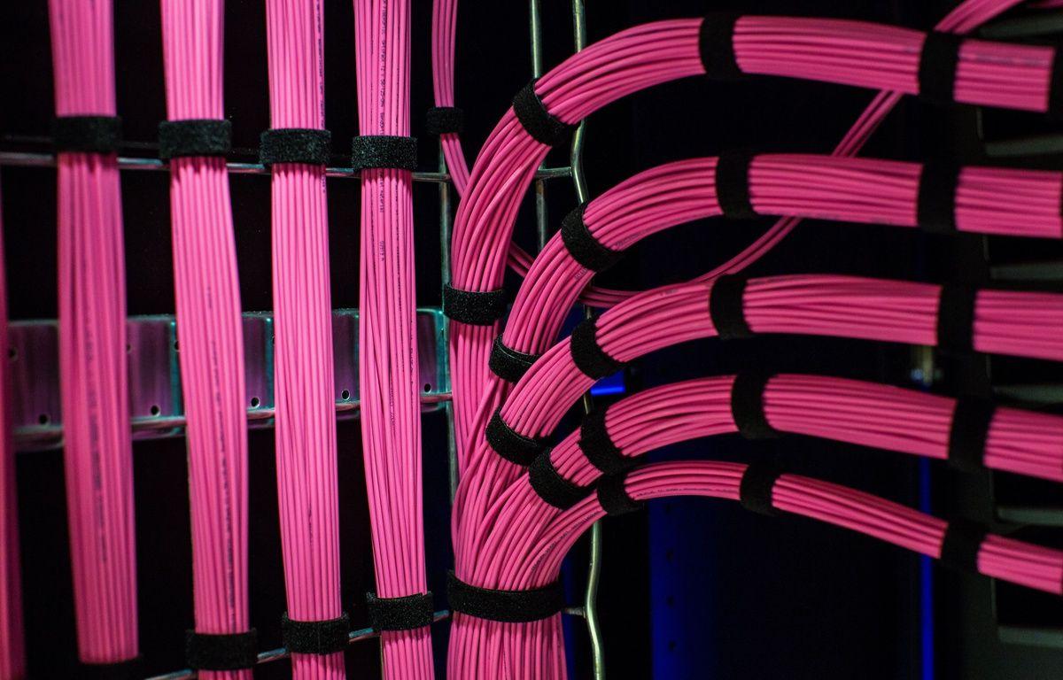Illustration: des câbles de fibre optique. – R.MEIGNEUX/AP/SIPA