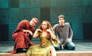 Garou, Patrick Fiori et Hélène Ségara dans la comédie musicale «Notre Dame de Paris».