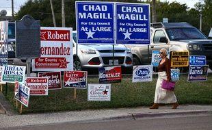 La femme d'un candidat au Texas supplie les électeurs de voter pour lui
