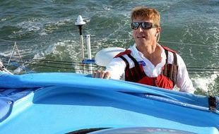 Le skipper Jean-Pierre Dick, l'un des concurrents du Vendée Globe 2012.