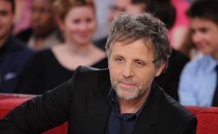 Stéphane Guillon sur le plateau de «Vivement dimanche» en janvier 2015.