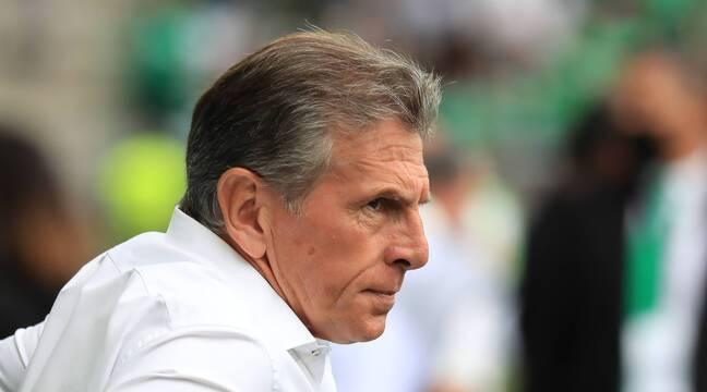 ASSE : Sur la sellette, Claude Puel dirige l'entraînement des Verts ce mardi et sera sur le banc pour affronter Angers