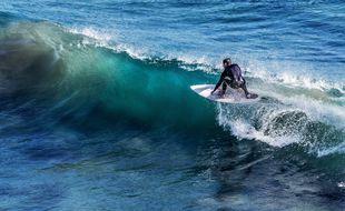 Un surfeur (illustration).
