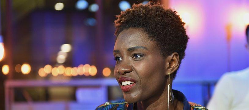 La journaliste Rokhaya Diallo, dans l'émission