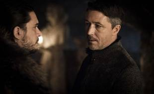 Kit Harington et Aidan Gillen dans le second épisode de la saison 7 de «Game of Thrones».