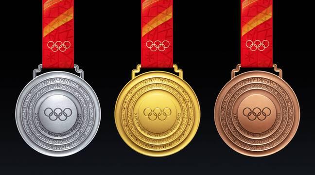 Pékin-2022 : Les médailles des JO d'hiver inspirées d'anciens pendentifs en jade