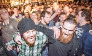 Ambiance de concert au festival Eurosonic de Groningen