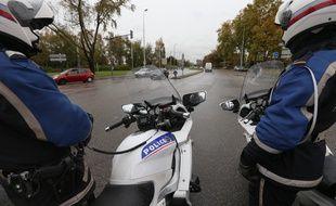 Un fourgon Chronopost a été braqué et dérobé par quatre individus, lundi, sur l'A103 à Rosny-sous-Bois en Seine-Saint-Denis. (Illustration)