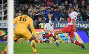 Football: Anthony Gonçalves, auteur d'une doublé lors de la victoire de Strasbourg contre Reims.