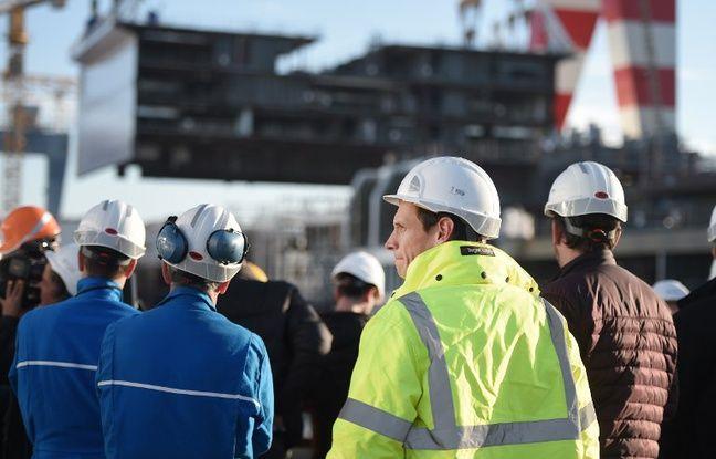 Saint-Nazaire: Les chantiers navals tournent à plein régime, à grand renfort de sous-traitants