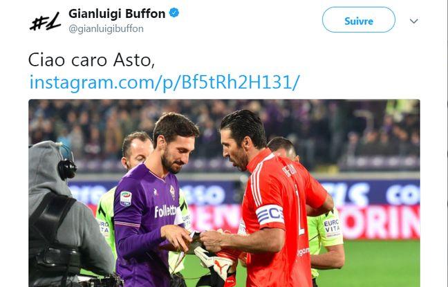 «Bon voyage mon ami»... Les émouvants messages des footballeurs après la mort de Davide Astori