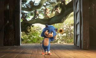 Baby Sonic apparaît dans une bande-annonce japonaise du film.