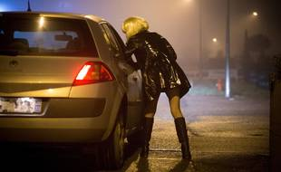Illustration sur la prostitution.