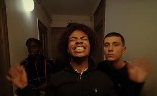 Le rappeur Gambi dans le clip «Popopop».