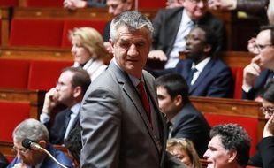Le député Jean Lassalle à l'Assemblée nationale, à Paris, le 5 mars 2019.