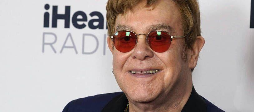 Elton John le 27 mai 2021 à Los Angeles.