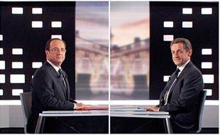 François Hollande et Nicolas Sarkozy se sont opposés avec virulence, de la dette à l'immigration en passant par le style de présidence, les deux hommes rendant coup pour coup dans un débat qui ne devrait pas remettre en cause la position de favori du candidat PS