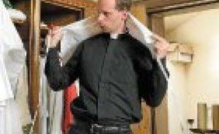 Grégoire Meunier, futur prêtre.