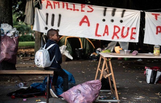 Paris: Un camp de 157 migrants évacué du parc de la Villette