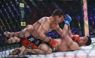Un championnat de MMA à New York, le 15 juin 2019.
