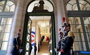 Bienvenue dans l'aile du Palais royal dédiée au Conseil constitutionnel.