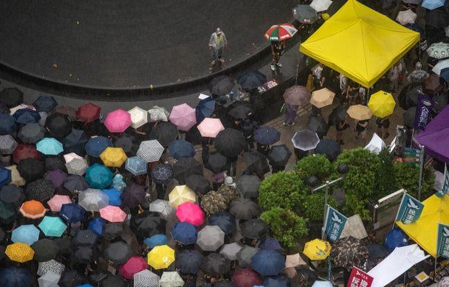 Hong Kong: Nouvelle manifestation de masse pacifique