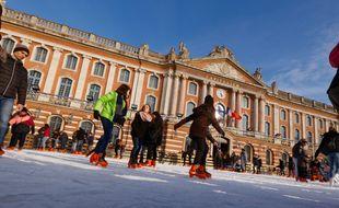 La patinoire est au Capitole jusqu'au 4 mars.