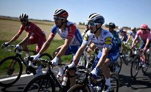 Thibaut Pinot et Julian Alaphilippe pendant le Tour de France 2020.