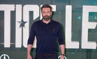 L'acteur Ben Affleck à Londres pour la promotion de Justice League